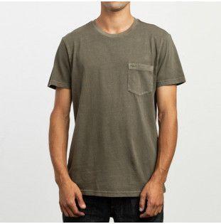 Camiseta RVCA: PTC 2 PIGMENT SS (OLIVE)