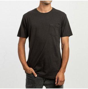 Camiseta RVCA: PTC 2 PIGMENT SS (PIRATE BLACK)