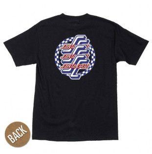 Camiseta Santa Cruz: TEE CHECK OGSC (BLACK) Santa Cruz - 1