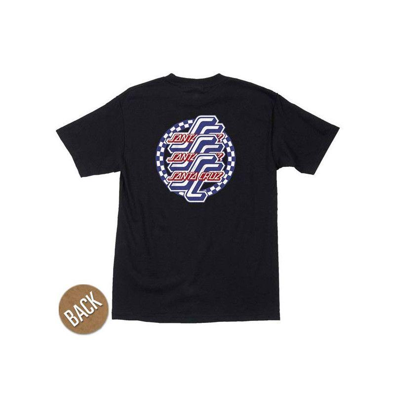 Camiseta Santa Cruz: TEE CHECK OGSC (BLACK)