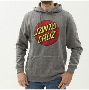 Sudadera Santa Cruz: HOOD CLASSIC DOT (DARK HEATHER) Santa Cruz - 1