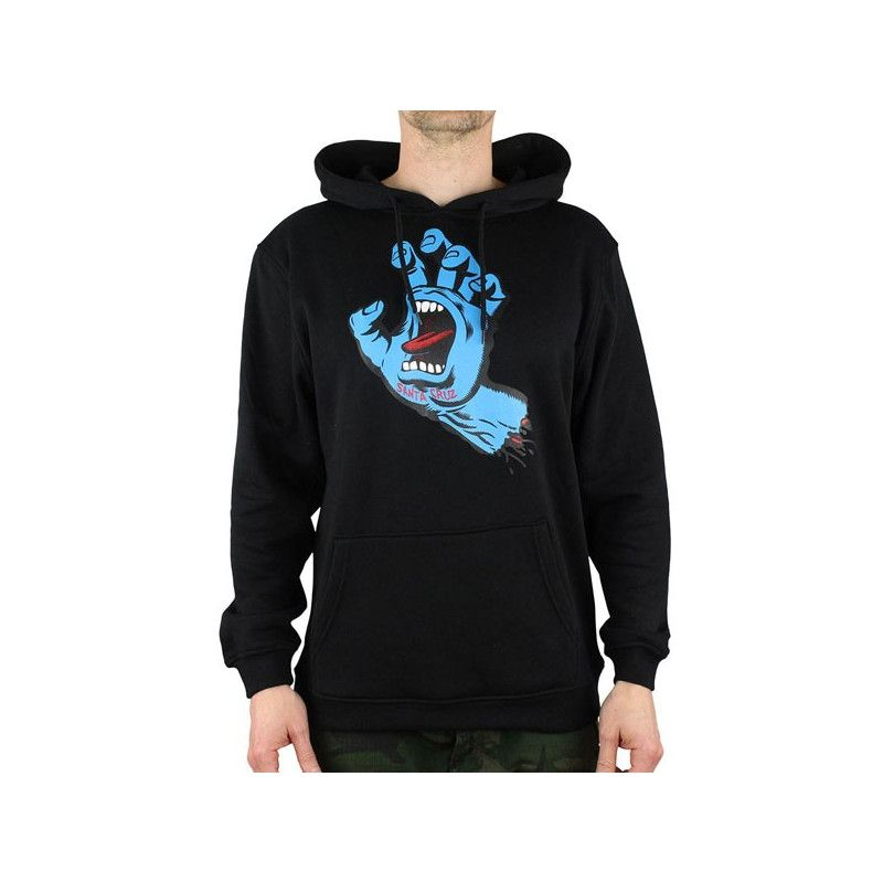 Sudadera Santa Cruz: HOOD SCREAMING HAND (BLACK)