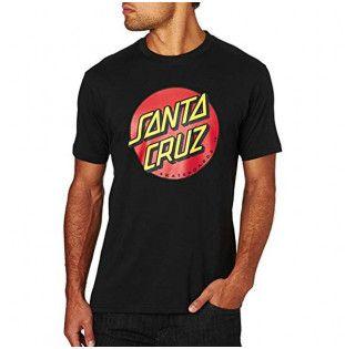 Camiseta Santa Cruz: TEE CLASSIC DOT (BLACK)