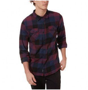 Camisa Vans: BOX FLANNEL (PRUNE DRESS BLUES) Vans - 1