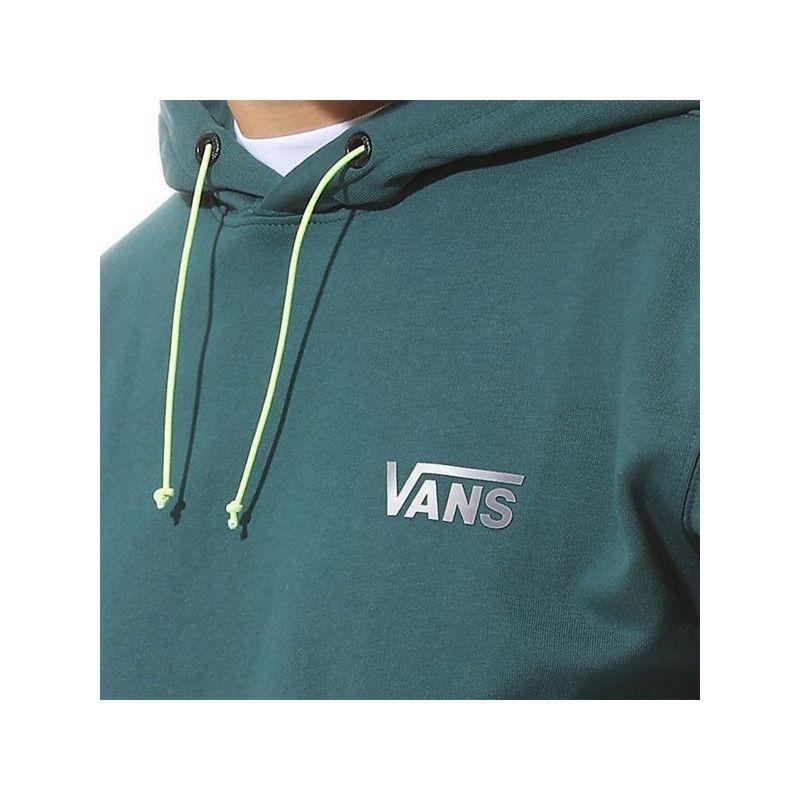 Sudadera Vans: VANS REFLECTIVE COLORB HO (VANS TREK GRN)