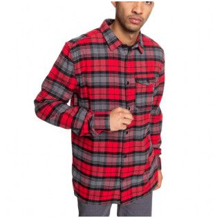 Camisa DC Shoes: MARSHA LS (RACING RED) DC Shoes - 1