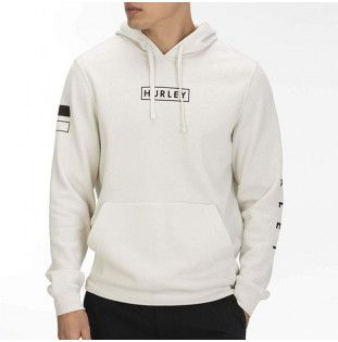 Sudadera Hurley: FRAGMENT PULLOVER (LIGHT BONE)