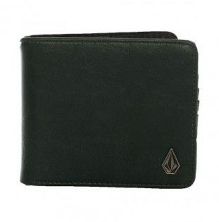 Cartera Volcom: SLIM STONE PU WLT (Evergreen)