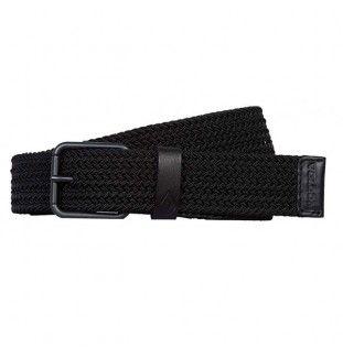 Cinturón Volcom: KRUPA WEB BELT (BLACK)