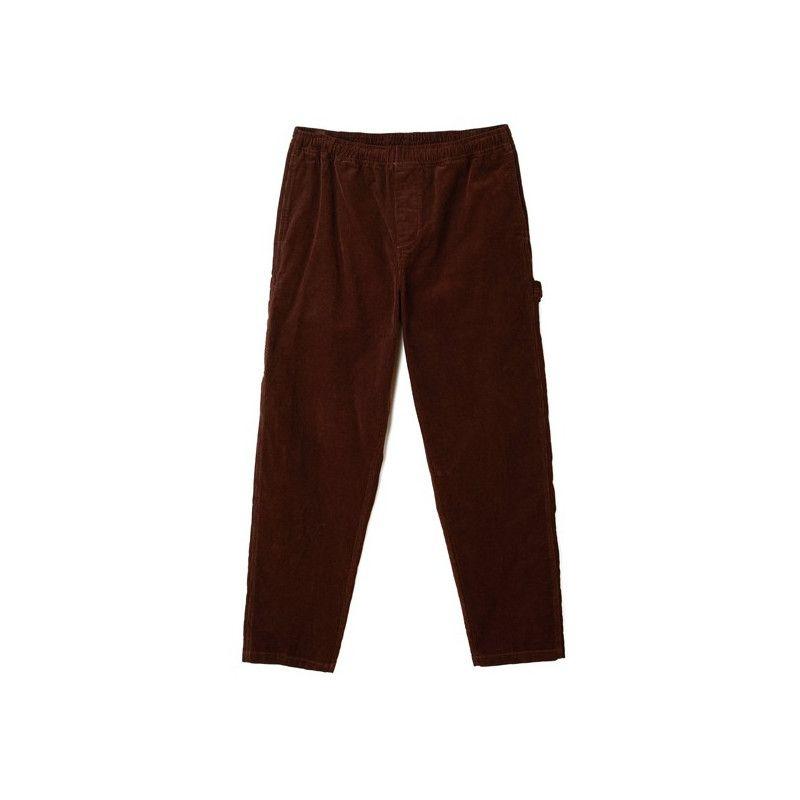 Pantalón Obey: EASY CORDUROY CARPENTER PANT (BROWN)