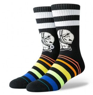 Calcetines Stance: MOON MAN (BLACK)