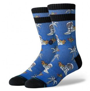 Calcetines Stance: SPACE MONKEY (BLUE)