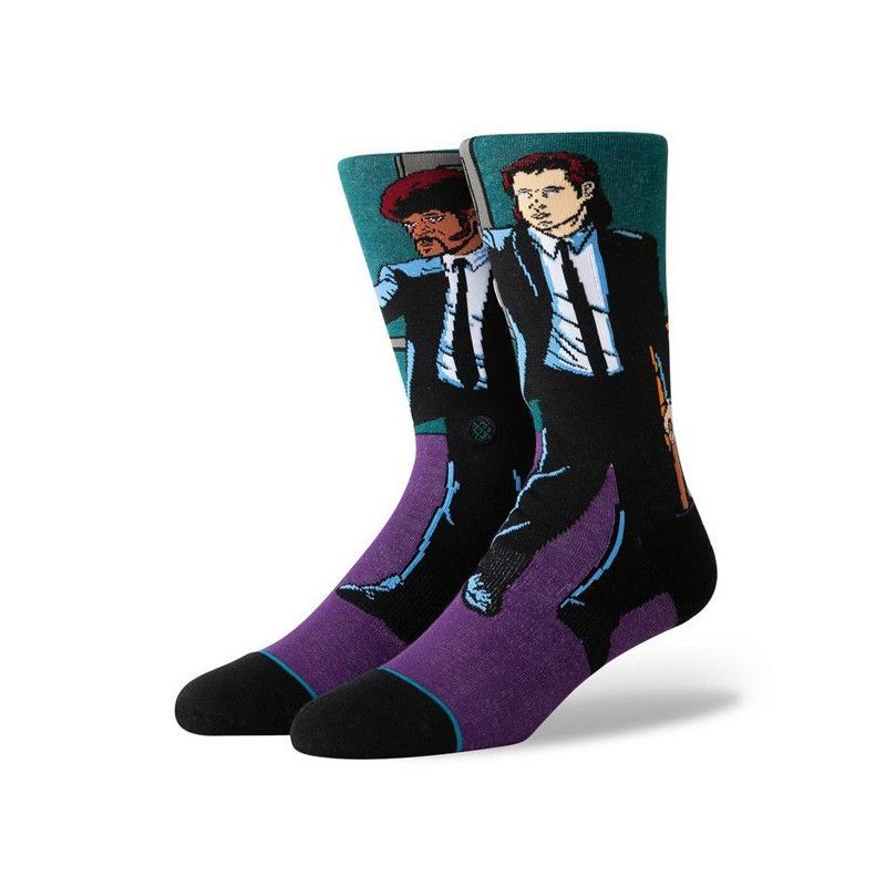 Calcetines Stance: VINCENT AND JULES (PURPLE)