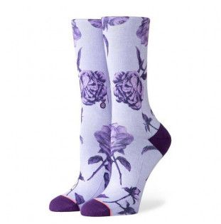 Calcetines Stance: REBEL ROSE CREW (PURPLE) Stance - 1