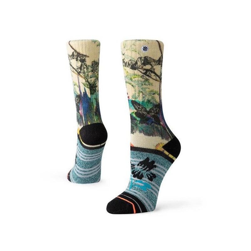 Calcetines Stance: MORAINE CREST W OUTDOOR (CREAM)
