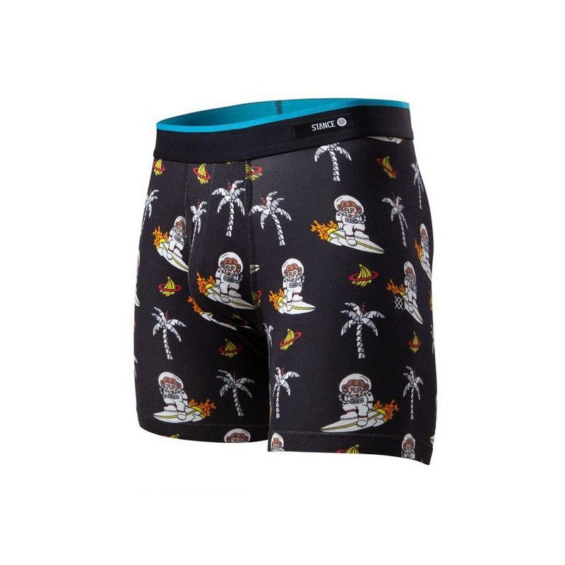 Boxer Stance: SPACE MONKEY BB (BLACK)