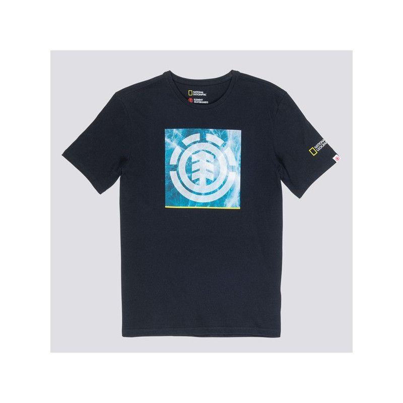 Camiseta Element: SOLVENT ICON SS (FLINT BLACK)