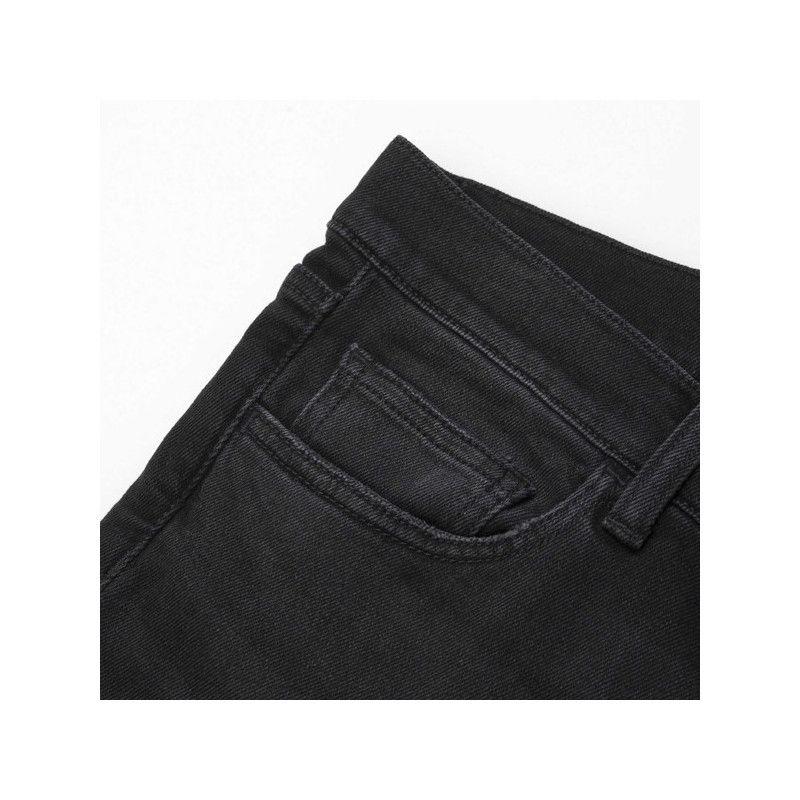 Pantalón Carhartt: Rebel Pant (Black Rinsed Mid Worn Wash)