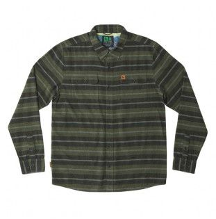 Camisa Hippytree: Morrison Flannel (Forest) Hippytree - 1