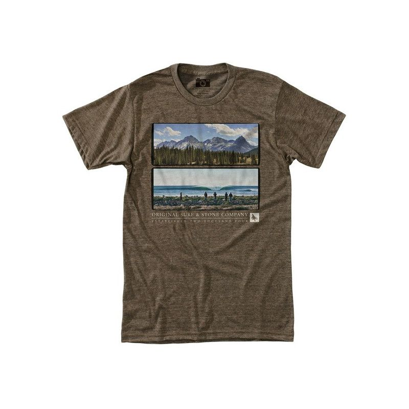 Camiseta Hippytree: Frameview Tee (Heather Brown)