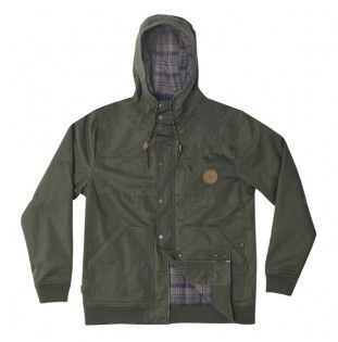 Chaqueta Hippytree: Midland Jacket (Army) Hippytree - 1