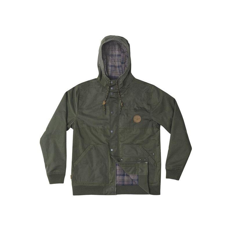 Chaqueta Hippytree: Midland Jacket (Army)