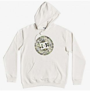Sudadera DC Shoes: CIRCLE STAR PH (SNOW WHITE CAMO) DC Shoes - 1