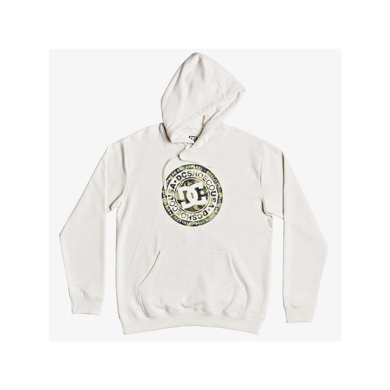Sudadera DC Shoes: CIRCLE STAR PH (SNOW WHITE CAMO)