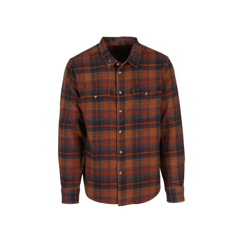 Camisa Dark Seas: LAKEVIEW (NAVY RUST)