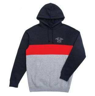 Sudadera Dark Seas: MONTEREY (NAVY/RED) Dark Seas - 1