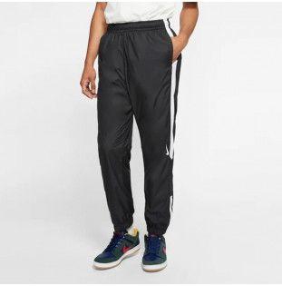 Pantalón Nike: SHIELD TRCK PNT SWOOSH (BLACK WHITE WHITE) Nike - 1