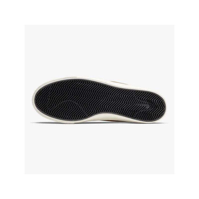 Botas Nike: Zoom Janoski Mid Crafted (LT BRIT TAN BLK)