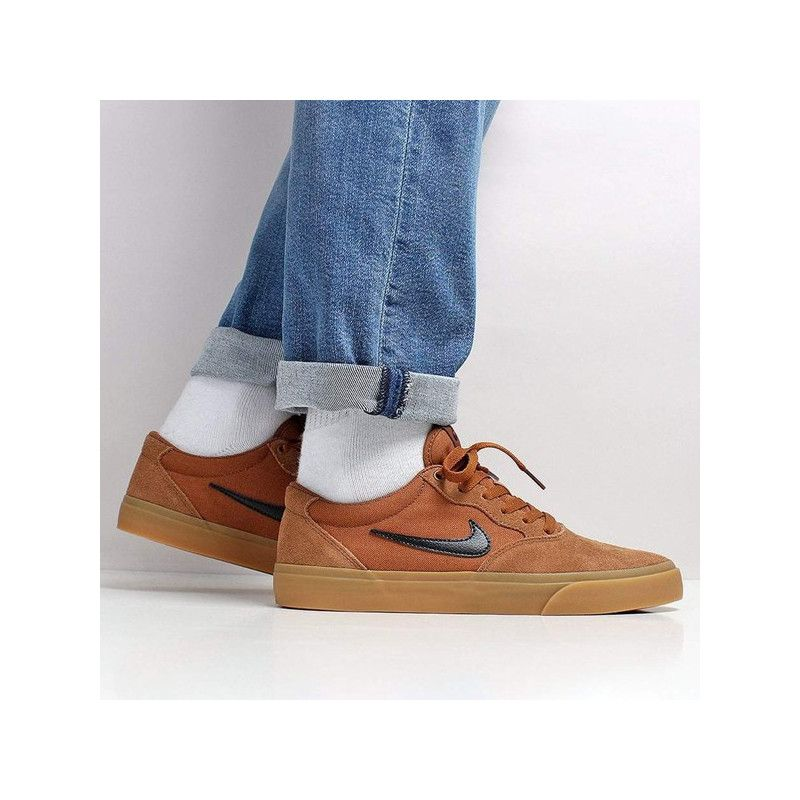 Zapatillas Nike: Chron Solarsoft (LT BRIT TN BLK GM LT BRW)