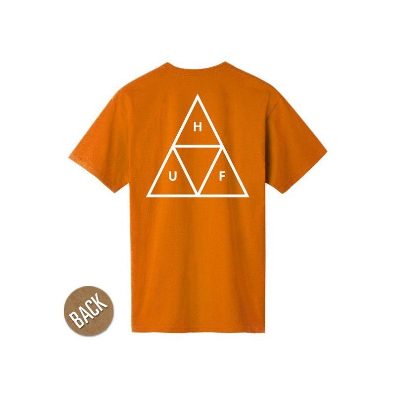 Camiseta HUF: ESSENTIALS TT SS TEE (RUST)