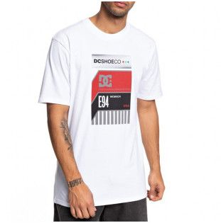Camiseta DC Shoes: HOME VIDEO SS (SNOW WHITE) DC Shoes - 1