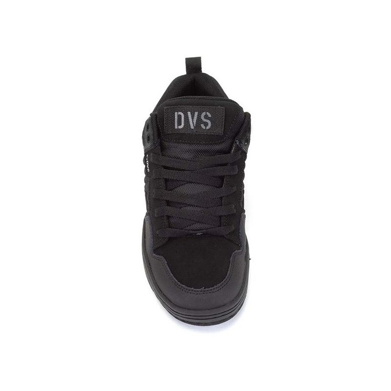 Zapatillas DVS: ENDURO 125 (BLACK CHARCOAL NUBUCK)
