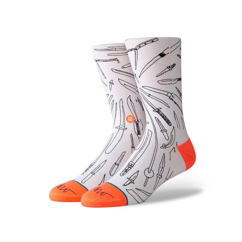 Calcetines Stance: OBLOW POKE (WHITE)