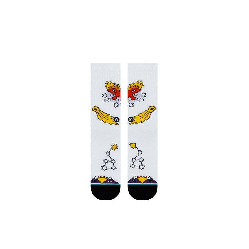 Calcetines Stance: EAGLE STAR (WHITE)