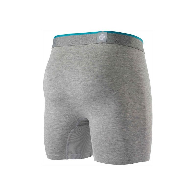 Boxer Stance: STANDARD 6in (HEATHER GREY)