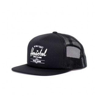 Gorra Herschel: Whaler Mesh (Black) Herschel - 1