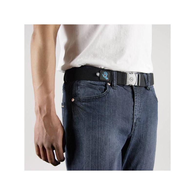 Cinturón Arcade: RAMBLER SANTA CRUZ COL (BLK SCREAM HAND)