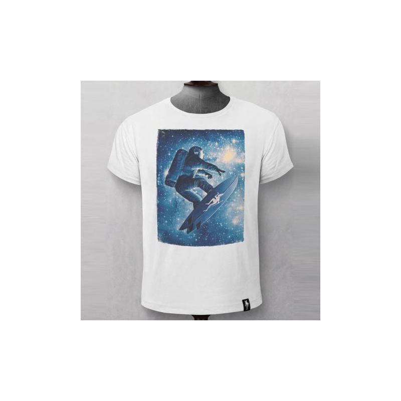 Camiseta Dirty Velvet: STAR SURFER (Vintage White)