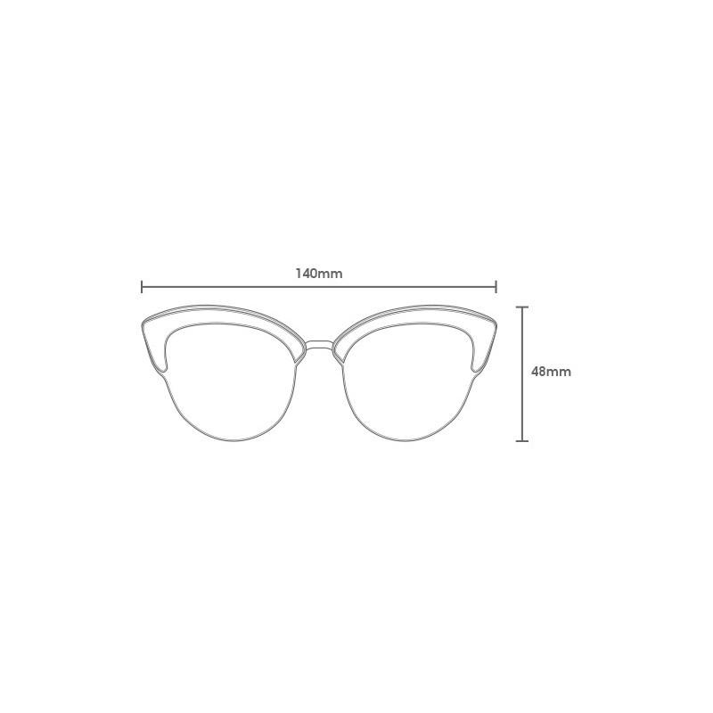 Gafas Carve: CAROLINA (Black Grey Pola 3481 PRP02)