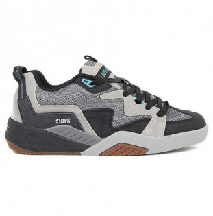 Zapatillas DVS: DEVIOUS (CHARCOAL BLACK TURQ NUBUCK) DVS - 1