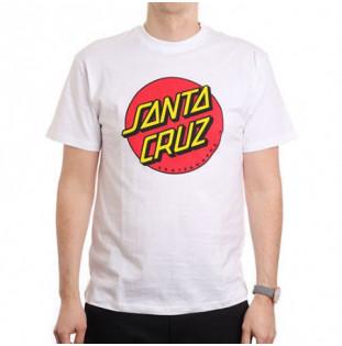 Camiseta Santa Cruz: TEE CLASSIC DOT (WHITE)
