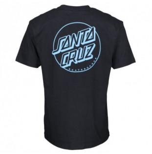Camiseta Santa Cruz: TEE OPUS DOT (STRIPE BLACK)