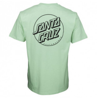 Camiseta Santa Cruz: TEE OPUS DOT (STRIPE MINT)
