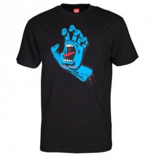Camiseta Santa Cruz: TEE SCREAMING HAND (BLACK)