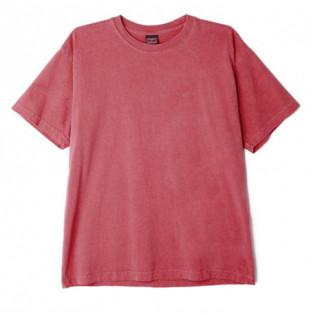 Camiseta Obey: Jumble III Pigment SS Tee (Dusty cassis)