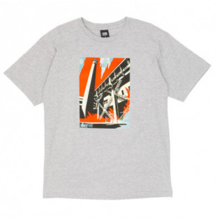Camiseta Obey: Obey fossil factory (Heather grey) Obey - 1
